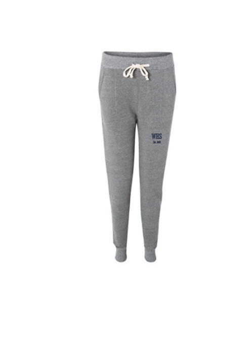 Womens Fleece Jogger - Embroidered