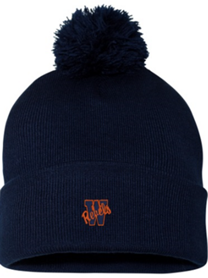 Winter Hat 2 - Rebels Embroidered
