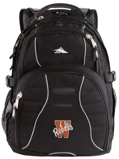 High Sierra Backpack - Embroidered