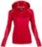 Womens Full Zip Hoodie Red.png