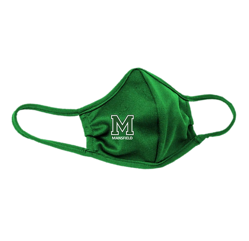 Youth & Adult Green (Kelly) Masks - 3-ply with Ear Adjusters