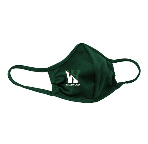 Youth & Adult Green (Forest) Masks - 3-ply with Ear Adjusters