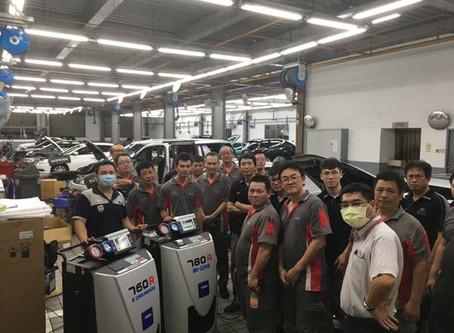 NISSAN導入TEXA 780R、760R冷媒回收機