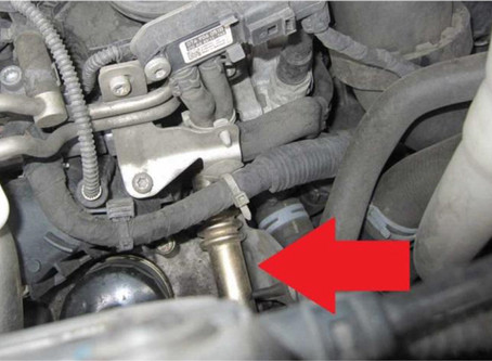【技術通報】VW T5 2006~2015 2.0D,冷卻水不足、外觀沒有洩漏痕跡,EGR冷卻器故障