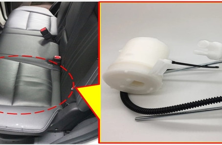 MITSUBISHI OUTLANDER  2010~2014  2.4L冷車不好發動,汽油泵浦故障