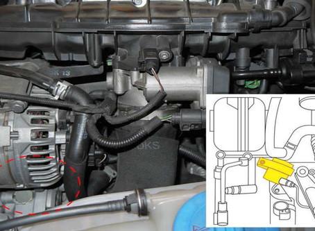AUDI Q5 2.0L 2009~2017  電子輔助冷卻泵浦瑕疵處理說明