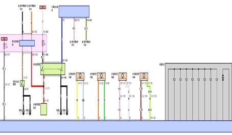 【技術通報】MITSUBISHI OUTLANDER  2010~2014  2.4L儀錶板ABS故障燈亮起,ABS控制模組故障