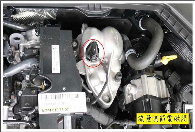 W205 流量調節電磁閥位置
