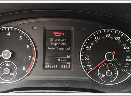 【技術通報】VW TIGUAN  2013~2016  2.0L,行駛中機油指示燈間歇性亮起檢修說明