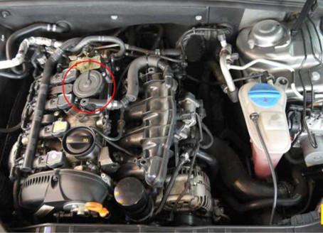 【技術通報】AUDI A4 2008~2013 2.0L CDNC引擎,故障碼18620檢修說明