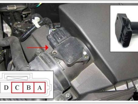 技術通報:MADZA MADZA-3 2009~2013 亮引擎故障燈、加速無力、抖動,P0101故障碼檢修