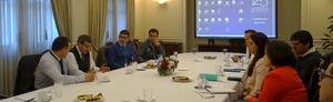 Reunión Avances Proyecto 2020 Sindicatos Chile y División Comercial y P&O – Agosto 2018