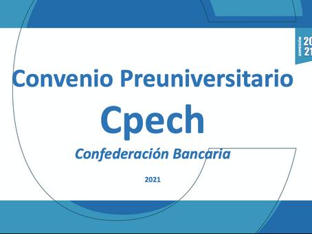Nuevo Convenio Preuniversitario online Cpech