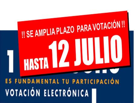 Reforma de Estatutos Sindicales 2019 - Se amplia Plazo de Votación!!