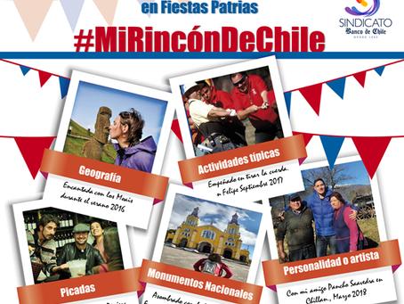 Concurso Fotográfico en Fiestas Patrias: Mi Rincón de Chile.-