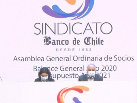 Asamblea aprueba Balance 2020 y Presupuesto 2021: Se crea Fondo Social con nuevas ayudas para socios