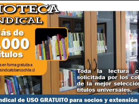Biblioteca Sindical 2019 - Uso gratuito socios y aportantes.
