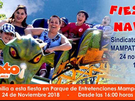 Fiesta de Navidad Sábado 24 Noviembre 2018 en Mampato Las Vizcachas - Inscríbete!