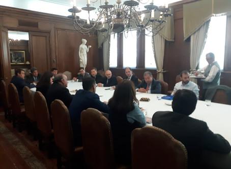 Sindicatos se reúnen con Gerente General por contingencia País