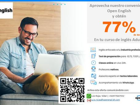 Convenio Open English – Sindicato Banco de Chile