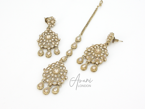 Liyaani Earring and Tikka Set