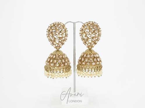 Kaya Jhumka Earrings