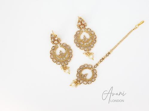 Shona Earring and Tikka Set