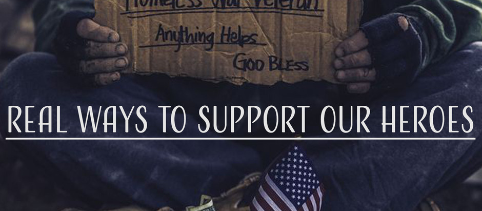 Real ways to support our heroes