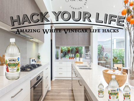 White vinegar hacks you need right now