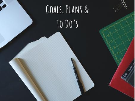 November; Goals, Plans & To-Dos
