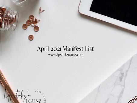 April Goals Plans & To-DOs