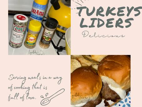 Turkey sliders