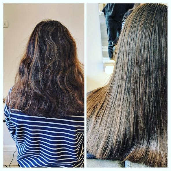 שיקום והחלקת שיער