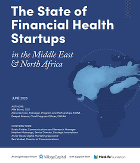 The State of Financial Health Startups in the Middle East & North Africa