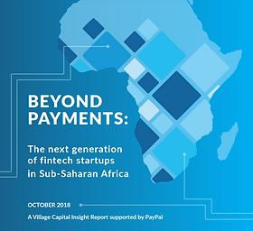 Beyond Payments: The Next Generation Fintech Startups in Sub-Saharan Africa