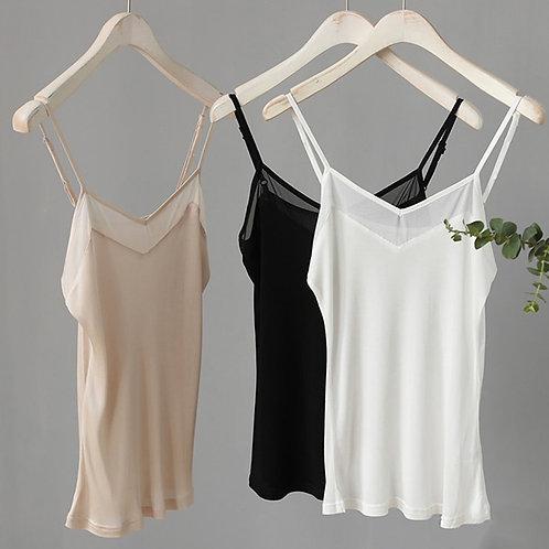 Natural Silk Plus Size Camisoles