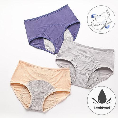 Leak Proof Menstrual Panties Waterproof Briefs Plus Size