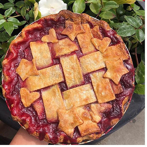 Olallieberry Pie (Thu & Fri delivery only)