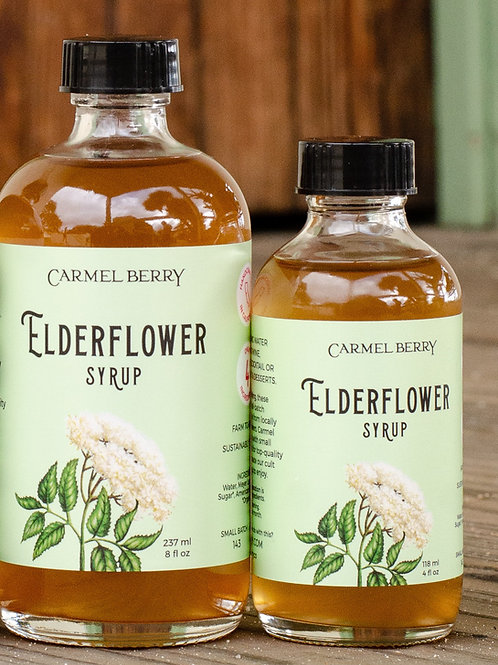 Elderflower Syrup 8oz.