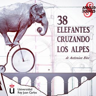 38 Elefantes Cruzando los Alpes (2020)
