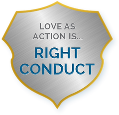 sai baba values right conduct