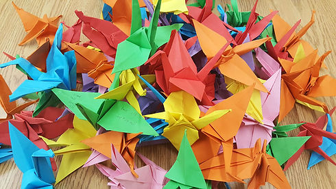 Human-Values-Day---paper-cranes-for-Peac