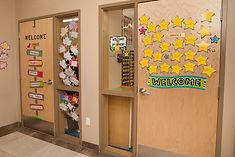 Sathya Sai 2nd gradeclassroom door