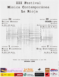 III Festival de Música Contemporánea de La Rioja