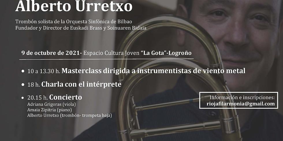 Encuentro con: ALBERTO URRETXO