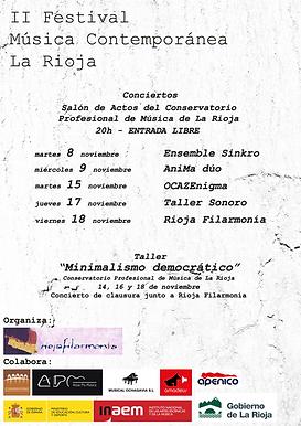 II Festiva de Música Contemporánea de La Rioja