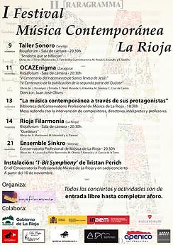 I Festivl de Músca Contemporánea de La Rioja