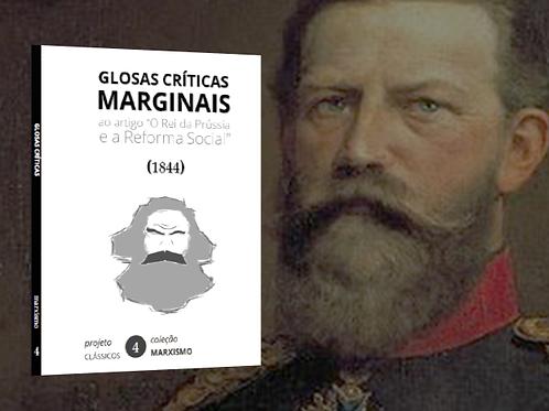 Marx: Glosas Críticas Marginais (1844)