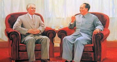 """Ludo Martens: """"Mao Tse-tung e Enver Hoxha e a luta sobre duas frentes"""""""