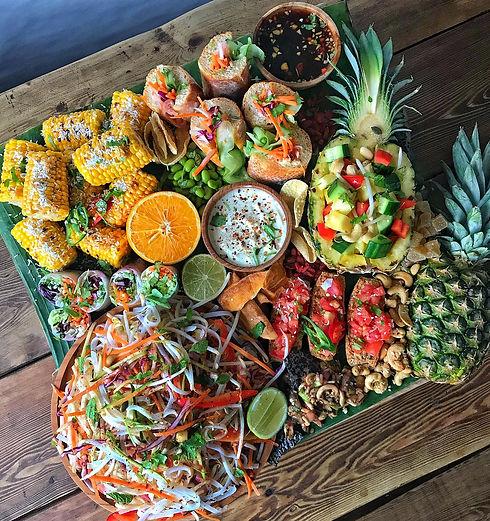 themed grazing platter